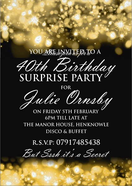 julie ornsby 40th